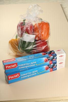 Свежесть круглый год. Пакеты для заморозки Paclan надолго продлят вкус и пользу любимых продуктов