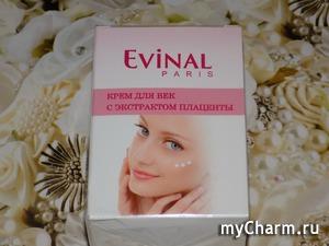 Из каталога Evinal. Крем для век с плацентой