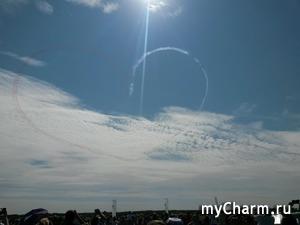 """Флешмоб """"Облака, облачка... и небо"""""""