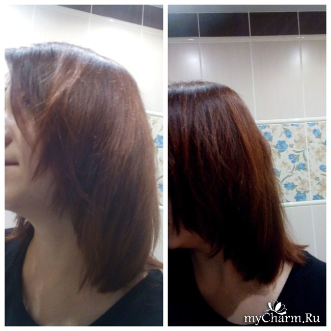 Нинетта. Волосы. Рости коса до пояса)) 2 неделя - полезное окрашивание!