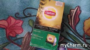 Зеленый чай Lipton для молодой кожи и отличного настроения