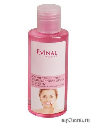 Evinal / Лосьон для снятия макияжа с экстрактом плаценты для нормальной и смешанной кожи