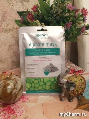 Альгинатная маска в помощь проблемной коже от  SHARY