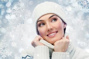 Красивый цвет лица зимой
