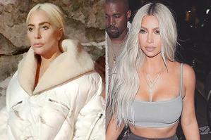 В новой фотосессии Леди Гага выглядит как Ким Кардашьян