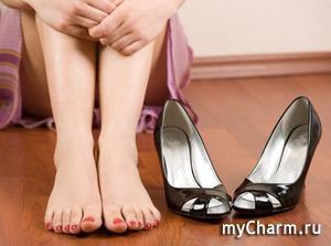 Как быть, если натирает обувь?