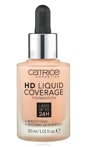 Catrice / Тональная основа HD Liquid Coverage Foundation