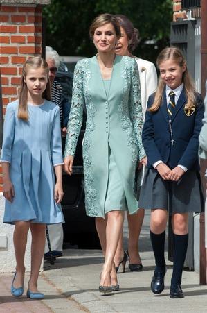 Сколько королева Летиция в этом году потратила на платья