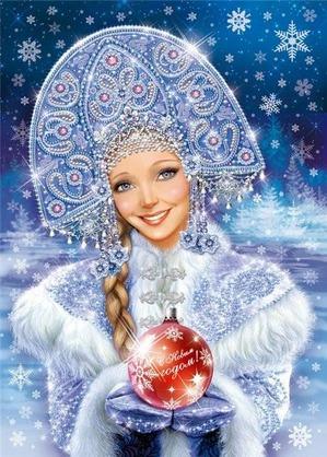 Снегурочки всегда успевают вовремя!!! (И поздравление с Новым годом!!!)