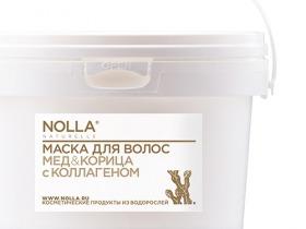 Nolla naturelle / Маска для волос «Мёд & корица» с коллагеном