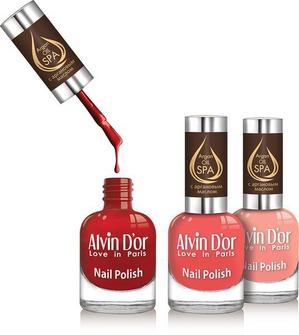 SPA-маникюр в домашних условиях с лаком для ногтей Argan Oil от Alvin D'or