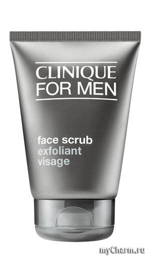 Clinique / Отшелушивающее средство for Men Face Scrub скраб для лица