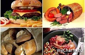 Список продуктов, от которых следует отказаться или свести потребление к минимуму!