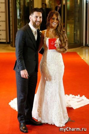 Лионель Месси женился через 10 лет совместной жизни