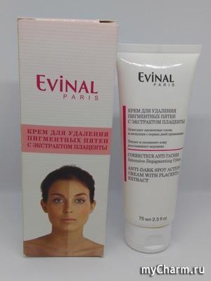 Evinal / Крем для удаления пигментных пятен с экстрактом плаценты