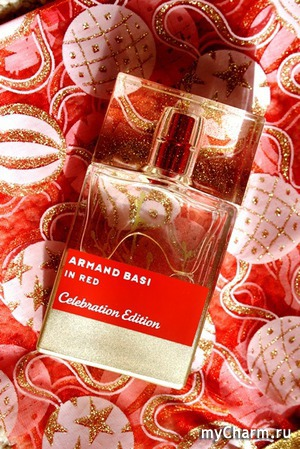Armand Basi In Red Celebration Edition покоряет с первых нот...