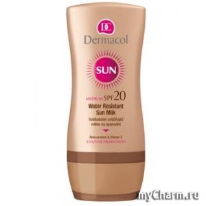 Dermacol / Молочко для загара Water Resistant Sun Milk SPF 20