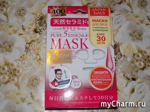 Натуральные керамиды в тканевых масках японского бренда