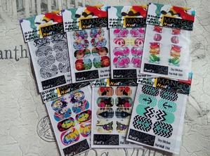 Стикеры для дизайна ногтей Mango nail's, делюсь впечатлениями.