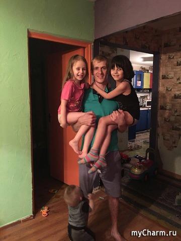 Средний мой сын, Николь, Анна-Мария и Даниял