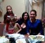 Моя дочь Оля, внучка Яна, Настя и Николь