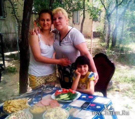 День рождения внучки Яны.