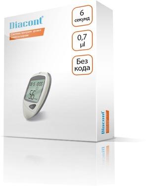 Быстрый результат, минимальная погрешность, невысокая цена: глюкометр Diacont и полоски к нему