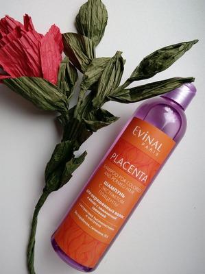 Evinal / Шампунь с экстрактом плаценты для окрашенных волос и волос с химической завивкой
