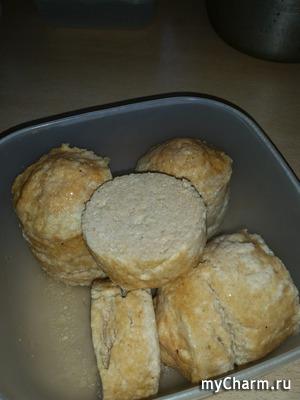 Домашняя куриная колбаса (микроволновка)