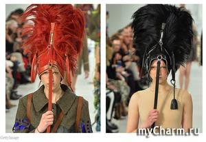 Сумка на голове — новый тренд с Парижской недели моды
