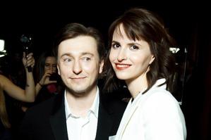 Стильные Безруков и Матисон на премьере