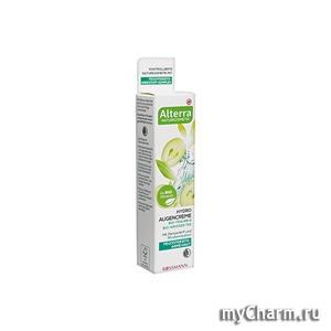 Alterra / Крем для глаз Hydro Augencreme bio-traube bio-weisser tee