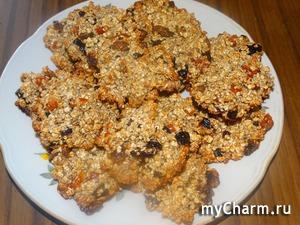 Вкусное овсяное печенье без добавления муки