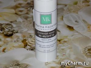 Для кожи лица – только лучшее! Дневной крем с SPF 10 от бренда Marina Kazarina
