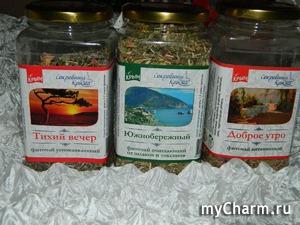 Моя чайная любовь: крымские фиточаи