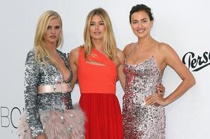 Модели в Каннах: платья с гала-ужин amfAR Gala Cannes