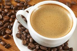 Настоящий кофе должен быть …живым