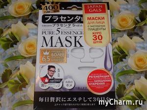 Средства ухода за кожей лица, которые впечатляют! Маска с плацентой от Japan Gals