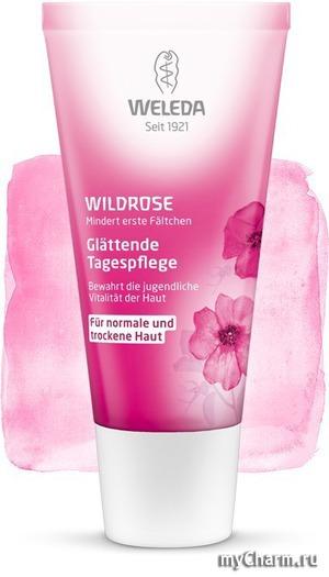 WELEDA / Розовый разглаживающий дневной крем