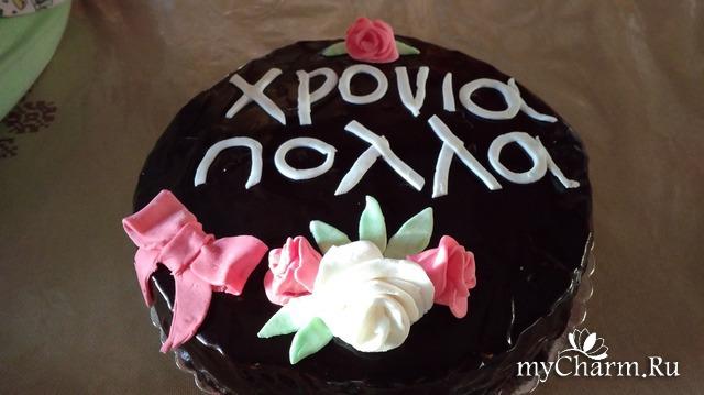 Тортик для крестной