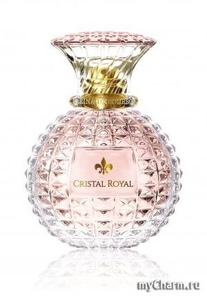 Новый женский аромат Cristal Royal Rose французского бренда Princesse Marina de Bourbon