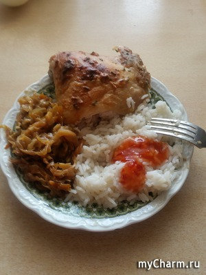 Рис из микроволновки