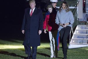 Мелания Трамп роскошно выглядит даже в свитере