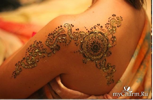 татуировка хной