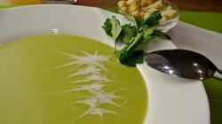 Супер вкусный и полезный крем-суп из брокколи за 10 минут!