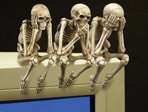 Скелет (ы) в шкафу. (моём).