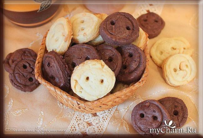 Вкусное печенье.