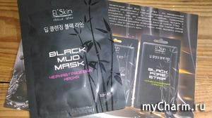 Корейская маска с углем отлично очищает кожу!