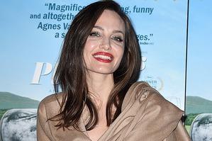 Цветущая Анджелина Джоли на премьере в Лос-Анджелесе