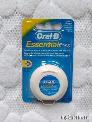 Зубная нить от Oral-B: удобство, качество, доступность